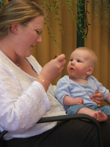 David joined ABC Center's Infant/Toddler Program, a program globally developed by Applied Behavior Consultants USA to use ABA on very young children with limited skills given their age.